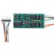 HO Decoder, 7.6cm Wires D13SRP/4-Function 8-Pin 1A