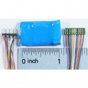 HO Decoder, Wired D15SRP/6-Function 8/9-Pin 1A