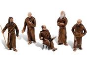 Scene Setters(R) Figurines-Friars/Monks 5/Pkg