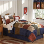 Laura Hart Kids Classic Sports Quilt with Pillow Sham, Twin QS6090TW-2300