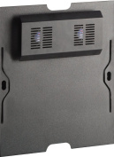 Salamander Chameleon Active Cooling Rear Panel for 30-Inch-Tall Cabinet