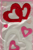 Valentine Window Gel Clings