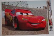 Disney Pixar The World of Cars Lightning McQueen Vinyl Window Cling