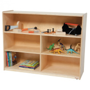 Wood Designs 36H in. Versatile Storage Unit - Natural