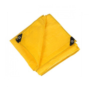 Stansport Pacific Play Tents 96112 8 ft. x 10 ft. Messy Mat - Yellow