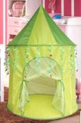 Green Leaf Princess Play Tent Castle