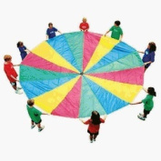 35' Parachute with Handles and Carry Bag