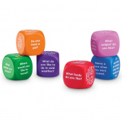 Learning Resources LER7300 Conversation Cubes
