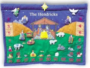 Personalised Fabric Nativity Advent Calendar By Pockets of Learning