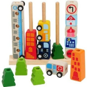 Wooden Sorting and Counting Educational Toys IM-27390