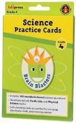 EDUPRESS Brain Blasters Science Skill Practise Cards