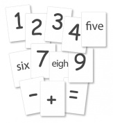 Crystal Springs Books Number Cards, Singapore Math