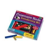 Cuisenaire Rods Intro Set 74/Pk Plastic -- Case of 3