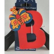 The Toy Workshop Alphabet Initial Magnetic Letter Name B Butterfly