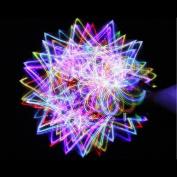 4-light Rainbow LED Rave Orbital Orbit Light Show