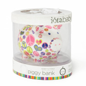 Iota First National Bank of Pig Piggy Bank in Gift Packaging, Alphabet Soup