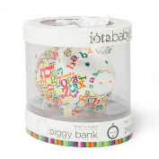 Iota First National Bank of Pig Piggy Bank in Gift Packaging, Dolly Lama Peace Sign