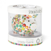 Iota First National Bank of Pig Piggy Bank in Gift Packaging, Pebble-Icious