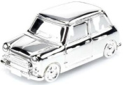 Knight-Silver Plated Retro Mini Car Money Box - Gift For New Baby Boy Or Christening Present