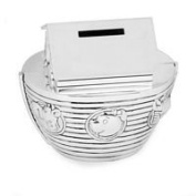 The Juliana Collection-Noahs Ark Money Box - Silverplated
