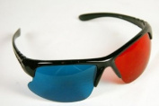 3D Glasses - Red/cyan plastic frame