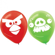 Amscan Angry Birds Latex Balloons (6) Party Accessory