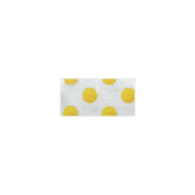 Crepe Streamer 7cm X30'-Sunflower Yellow Decorative Dots