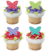 Butterfly Garden Cupcake Rings