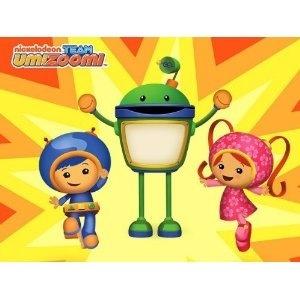 Team Umizoomi Edible Image Cake Topper By Kopykake