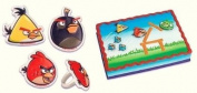 Angry Birds Cupcake Rings and Pop Top Set