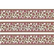Pink Cheetah Print Cake Border ~ Edible Image Cake Topper