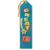 Great Job! Award Ribbon 5.1cm x 20cm Party Accessory