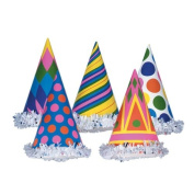 Fringed Party Hats (asstd designs) Party Accessory