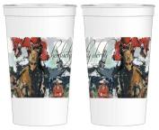 Kentucky Derby Artwork 470ml Beverage Cups