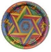 Judaic Expressions 20cm Lunch Plate - 8/Pkg.