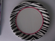 Zebra Passion Lunch Plates 8ct