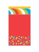 Creative Converting Sugar Buzz Plastic Banquet Table Cover