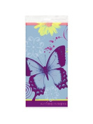 Butterfly Birthday Plastic Tablecover