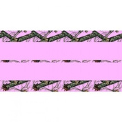 Mossy Oak Party Supplies Pink Heavy Duty 140cm x 270cm Plastic Tablecover