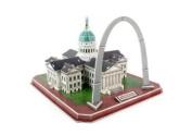 Daron Toys 3D St Louis Arch Jefferson National Memorial Puzzle