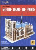 Notre Dame de Paris 3-D Puzzle
