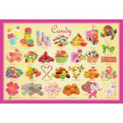 Jigsaw Puzzle 100 Pieces 33cm x 48cm -Candy