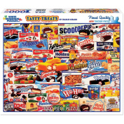 White Mountain Puzzles 1000-Piece Jigsaw Puzzle, Tasty Treats