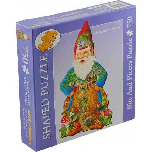 Bits-and-Pieces-Shaped-Jigsaw-Gnome-Forest-Free-Shipping