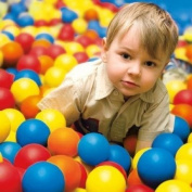 100 Fun Ballz Ball Pit Balls - Kids Love 'Em!