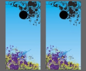 Victory Tailgate Abstract Themed Cornhole Game Set