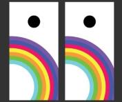 Victory Tailgate Rainbow Version 2 Cornhole Game Set