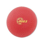 Champion Sports - Playground Ball, 22cm , Red - Sold As 1 Each - Allows play on all surfaces.