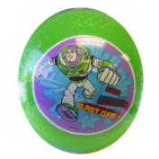 20cm Green Toy Story Rubber Ball - Playground Ball