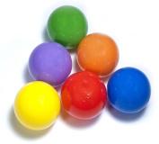 "100 ""Phthalate Free"" 6.5cm Pit Balls w/ Mesh Toting"